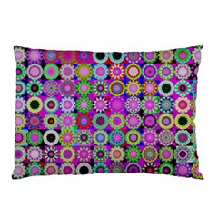 Design Circles Circular Background Pillow Case (two Sides)