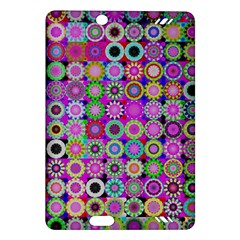Design Circles Circular Background Amazon Kindle Fire Hd (2013) Hardshell Case by Nexatart
