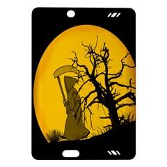 Death Haloween Background Card Amazon Kindle Fire Hd (2013) Hardshell Case by Nexatart