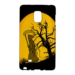 Death Haloween Background Card Galaxy Note Edge by Nexatart