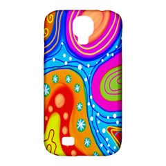 Doodle Pattern Samsung Galaxy S4 Classic Hardshell Case (pc+silicone)