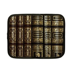 Detail Golden Gold Ornaments Netbook Case (small)