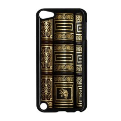 Detail Golden Gold Ornaments Apple Ipod Touch 5 Case (black) by Nexatart