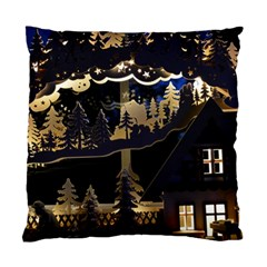 Christmas Advent Candle Arches Standard Cushion Case (two Sides)