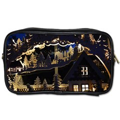 Christmas Advent Candle Arches Toiletries Bags 2 Side by Nexatart