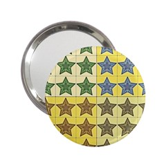 Pattern With A Stars 2 25  Handbag Mirrors