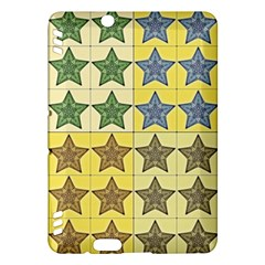 Pattern With A Stars Kindle Fire Hdx Hardshell Case