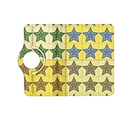 Pattern With A Stars Kindle Fire Hd (2013) Flip 360 Case