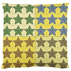 Pattern With A Stars Standard Flano Cushion Case (two Sides)