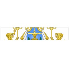 Royal Arms Of Cambodia Flano Scarf (large) by abbeyz71