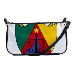 Coat of Arms of Cameroon Shoulder Clutch Bags by abbeyz71
