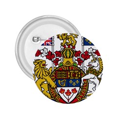 Coat Of Arms Of Canada  2 25  Buttons by abbeyz71