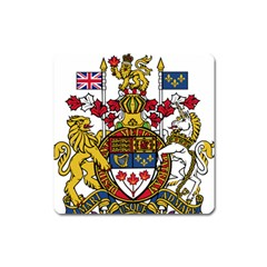 Coat Of Arms Of Canada  Square Magnet by abbeyz71