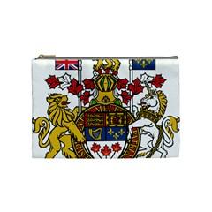 Coat Of Arms Of Canada  Cosmetic Bag (medium)  by abbeyz71