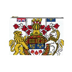 Coat Of Arms Of Canada  Cosmetic Bag (large)  by abbeyz71