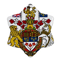 Coat Of Arms Of Canada  Ornament (snowflake) by abbeyz71