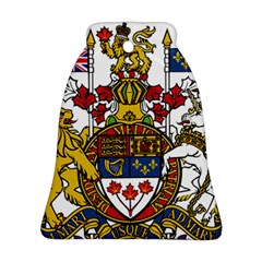 Coat Of Arms Of Canada  Bell Ornament (two Sides) by abbeyz71