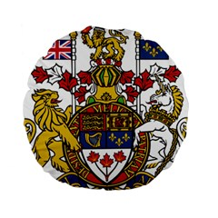 Coat Of Arms Of Canada  Standard 15  Premium Round Cushions by abbeyz71