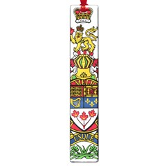 Coat Of Arms Of Canada  Large Book Marks by abbeyz71