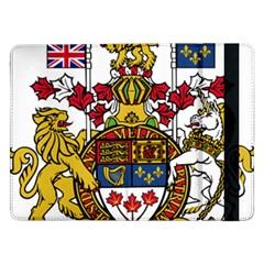 Coat Of Arms Of Canada  Samsung Galaxy Tab Pro 12 2  Flip Case by abbeyz71