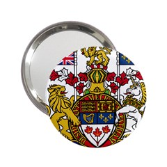 Canada Coat Of Arms  2 25  Handbag Mirrors by abbeyz71