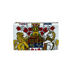 Canada Coat Of Arms  Cosmetic Bag (small)  by abbeyz71