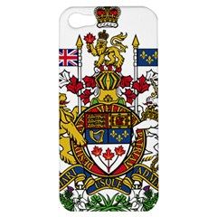 Canada Coat Of Arms  Apple Iphone 5 Hardshell Case by abbeyz71