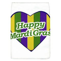 Happy Mardi Gras Logo Flap Covers (l)  by dflcprints