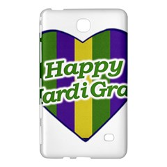 Happy Mardi Gras Logo Samsung Galaxy Tab 4 (8 ) Hardshell Case  by dflcprints