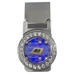 Processor Cpu Board Circuits Money Clips (cz)  by Nexatart