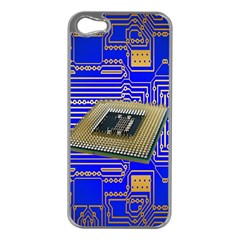 Processor Cpu Board Circuits Apple Iphone 5 Case (silver)