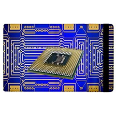 Processor Cpu Board Circuits Apple Ipad 3/4 Flip Case by Nexatart