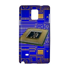 Processor Cpu Board Circuits Samsung Galaxy Note 4 Hardshell Case by Nexatart
