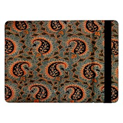 Persian Silk Brocade Samsung Galaxy Tab Pro 12 2  Flip Case by Nexatart