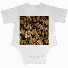Honey Bee Water Buckfast Infant Creepers by Nexatart