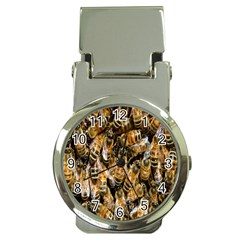 Honey Bee Water Buckfast Money Clip Watches by Nexatart