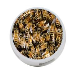 Honey Bee Water Buckfast 4 Port Usb Hub (two Sides)  by Nexatart