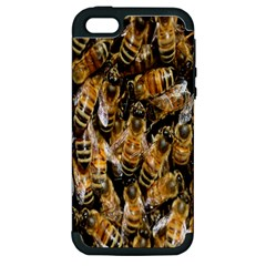 Honey Bee Water Buckfast Apple Iphone 5 Hardshell Case (pc+silicone)