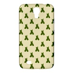 Leaf Pattern Green Wallpaper Tea Samsung Galaxy Mega 6 3  I9200 Hardshell Case by Nexatart