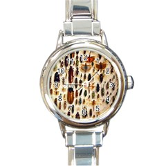 Insect Collection Round Italian Charm Watch
