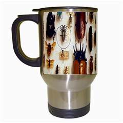 Insect Collection Travel Mugs (white) by Nexatart