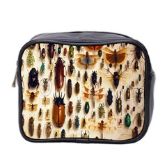 Insect Collection Mini Toiletries Bag 2 Side