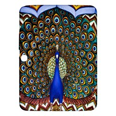 The Peacock Pattern Samsung Galaxy Tab 3 (10 1 ) P5200 Hardshell Case  by Nexatart