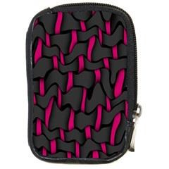 Weave And Knit Pattern Seamless Background Compact Camera Cases