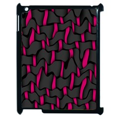 Weave And Knit Pattern Seamless Background Apple Ipad 2 Case (black)