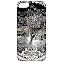 Swans Floral Pattern Vintage Apple Iphone 5 Classic Hardshell Case