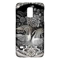 Swans Floral Pattern Vintage Galaxy S5 Mini by Nexatart