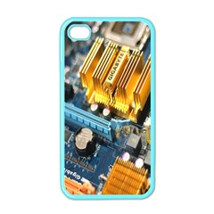 Technology Computer Chips Gigabyte Apple Iphone 4 Case (color)