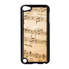 Music Notes Background Apple Ipod Touch 5 Case (black) by Nexatart