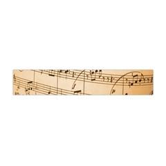 Music Notes Background Flano Scarf (mini) by Nexatart